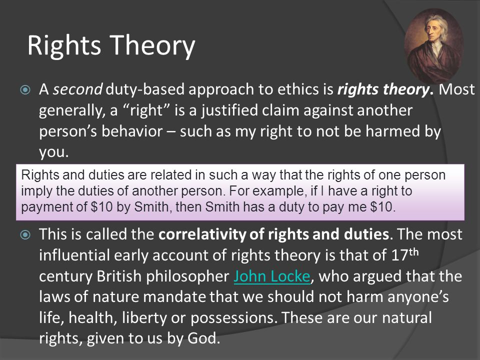 Rights Theory