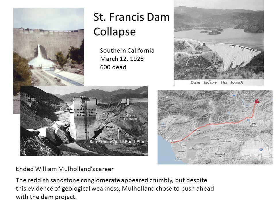 St. Francis Dam Collapse