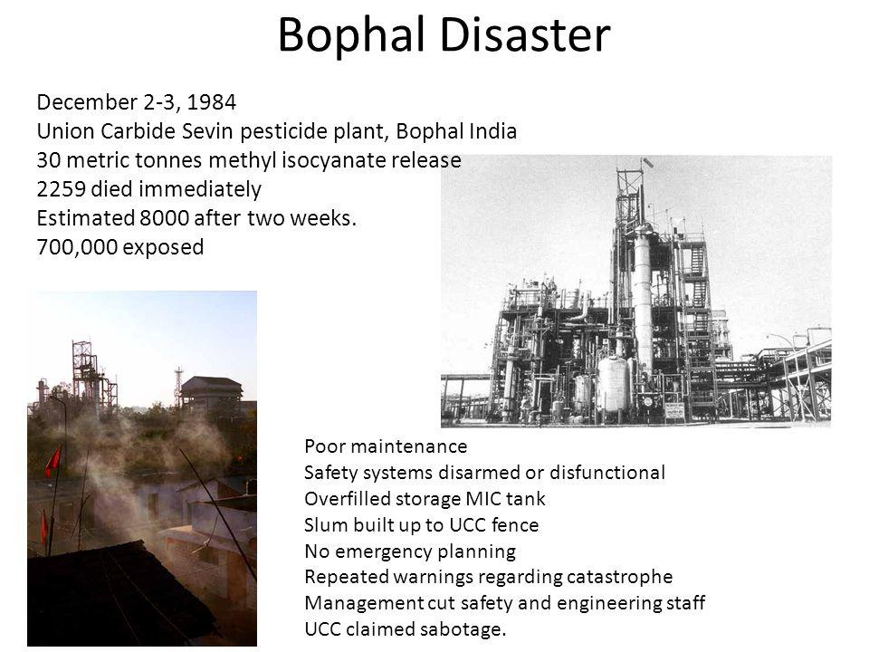 Bophal Disaster December 2-3, 1984