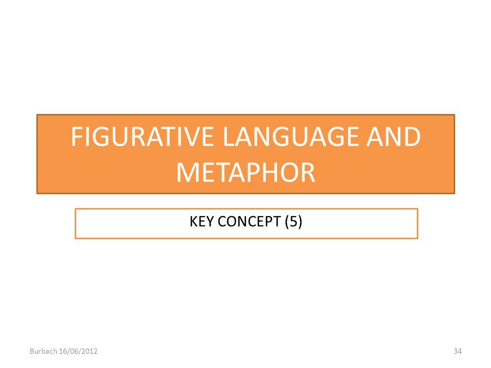 FIGURATIVE LANGUAGE AND METAPHOR