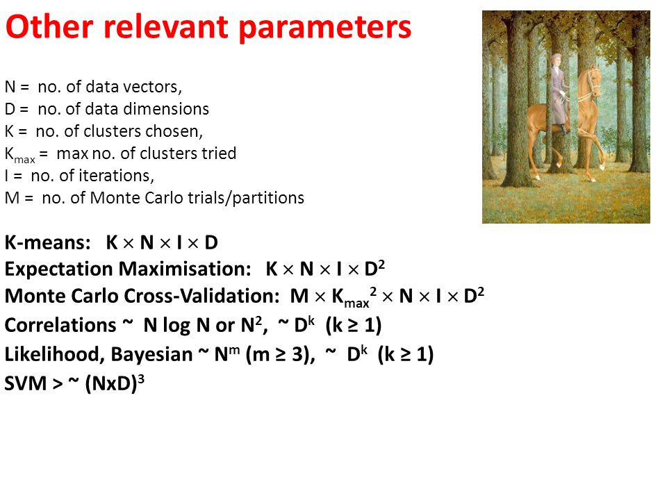 Other relevant parameters