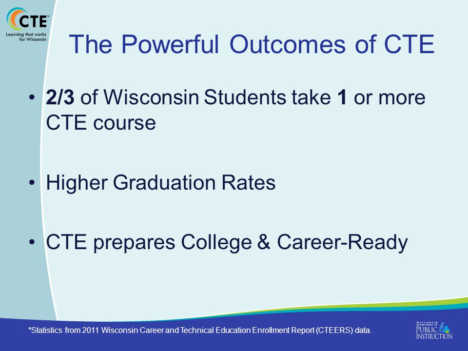 The Powerful Outcomes of CTE
