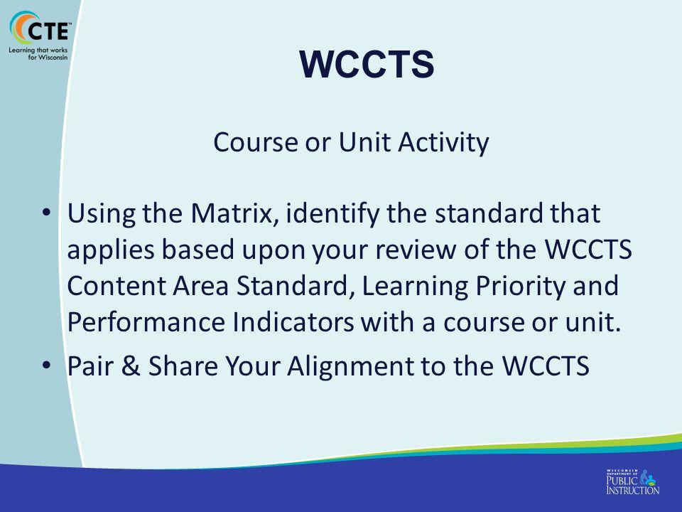 Course or Unit Activity
