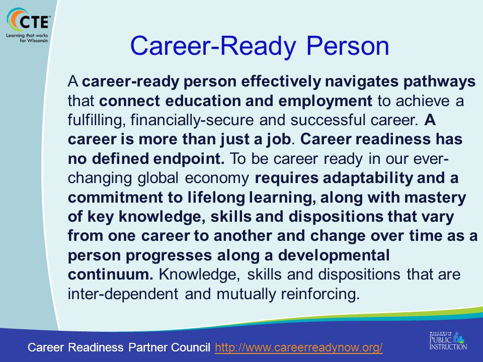 Career-Ready Person
