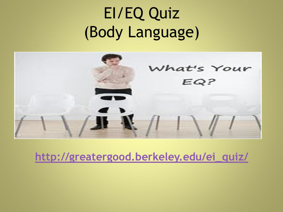 EI/EQ Quiz (Body Language)