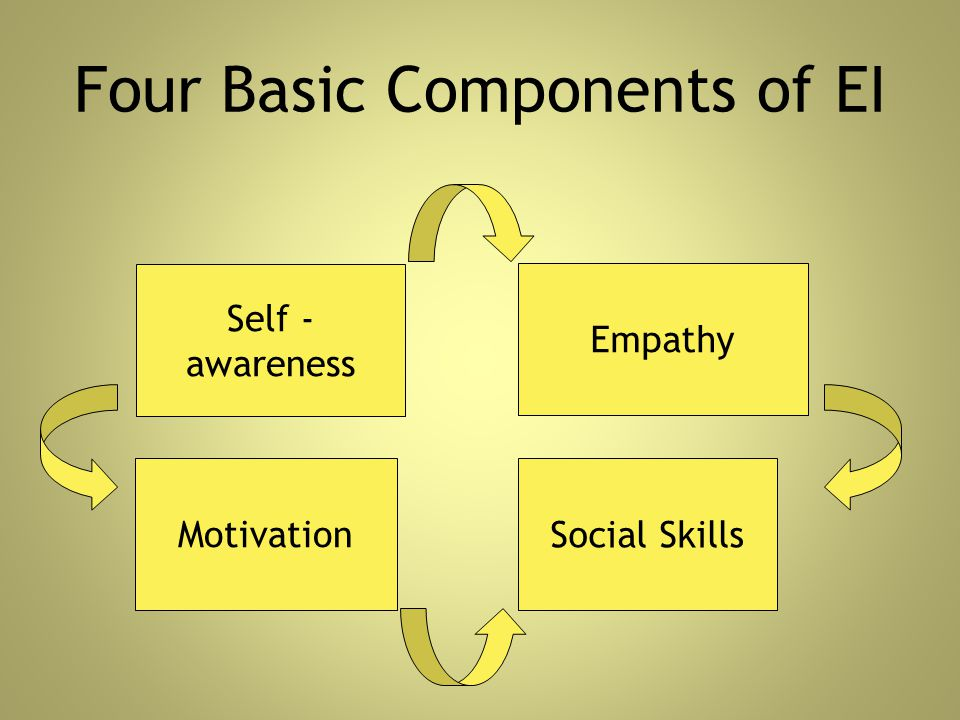 Four Basic Components of EI