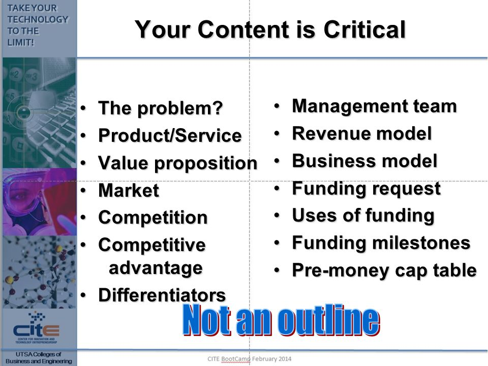 Your Content is Critical