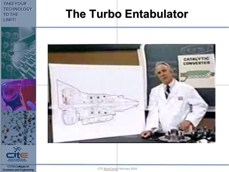 The Turbo Entabulator https://www.youtube.com/watch v=yjXTOlsE8k0