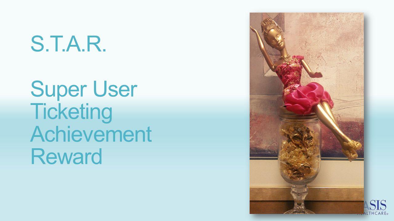 S.T.A.R. Super User Ticketing Achievement Reward