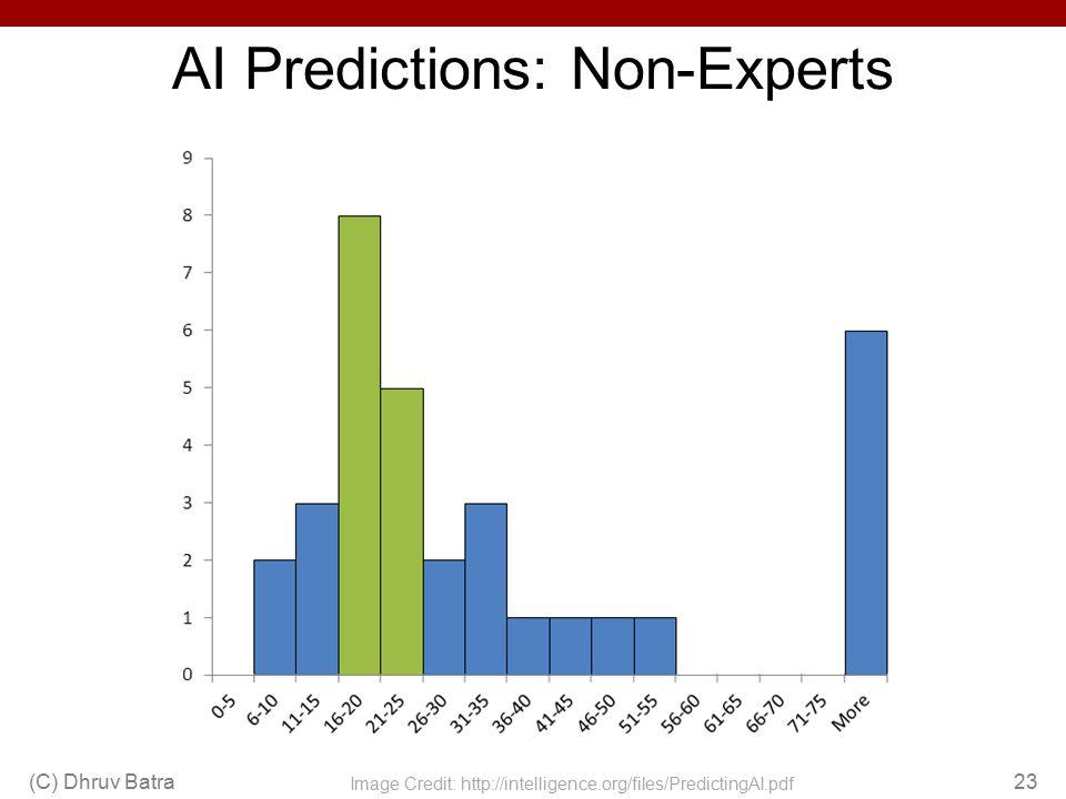 AI Predictions: Non-Experts