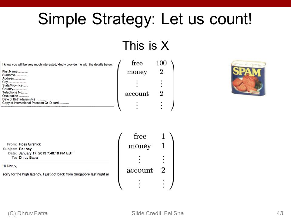 Simple Strategy: Let us count!