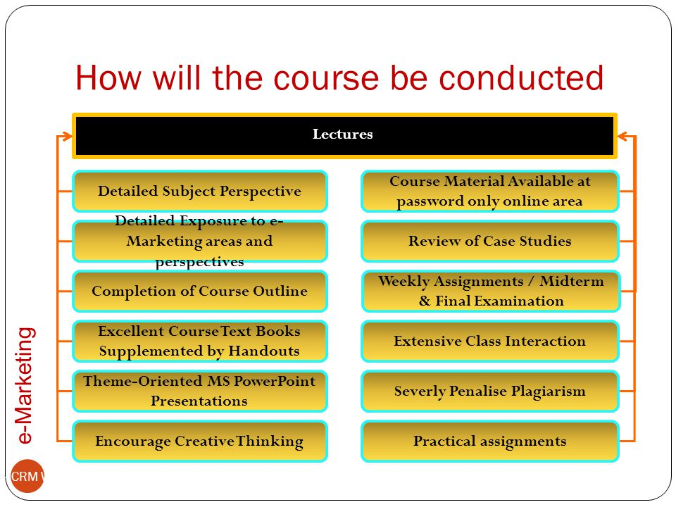 How will the course be conducted