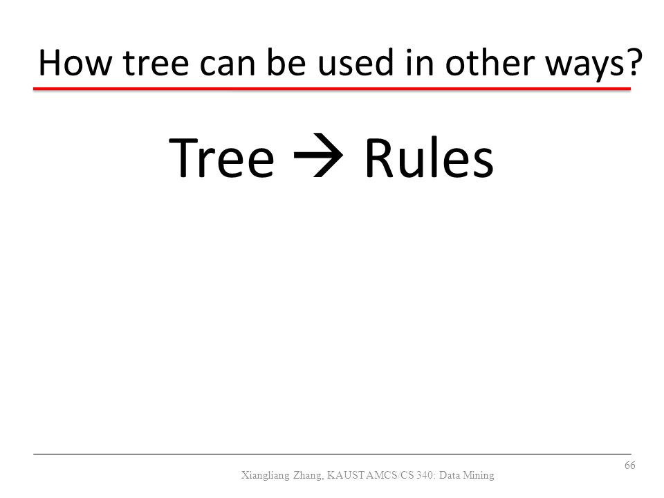 How tree can be used in other ways