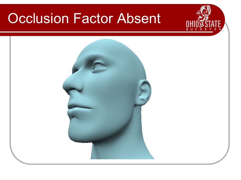 Occlusion Factor Absent