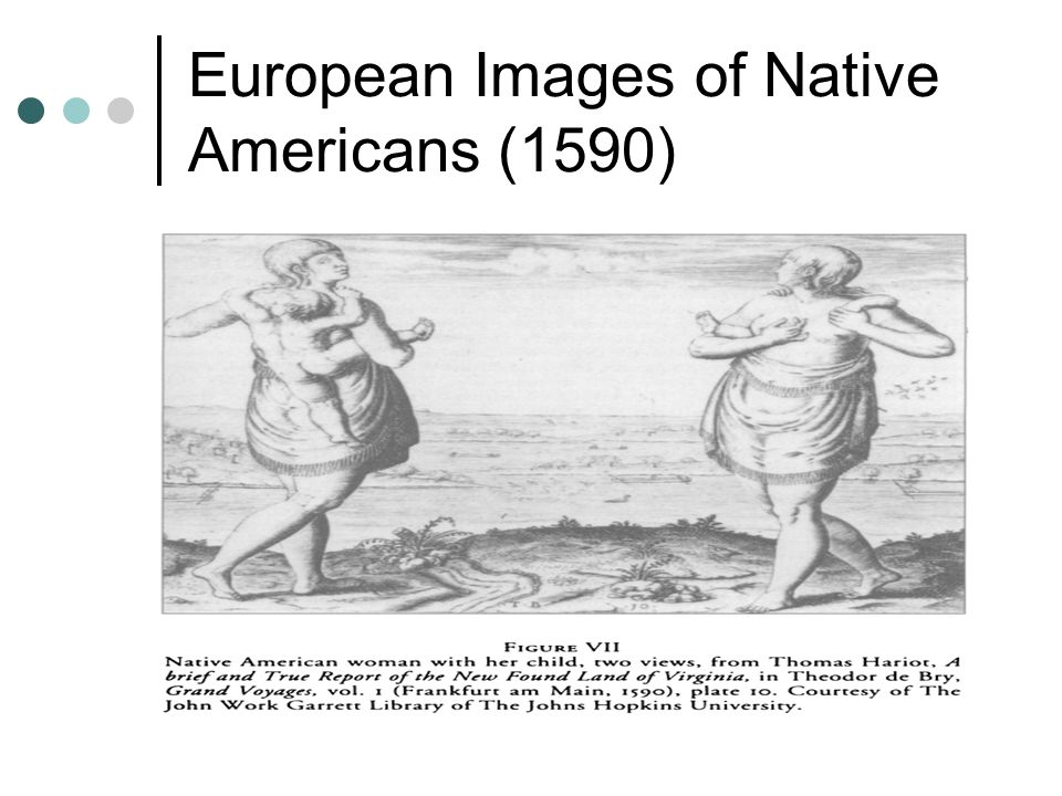 European Images of Native Americans (1590)