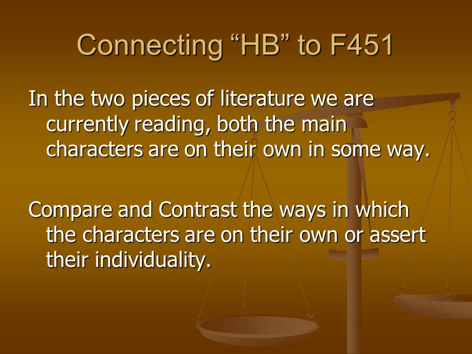 Connecting HB to F451