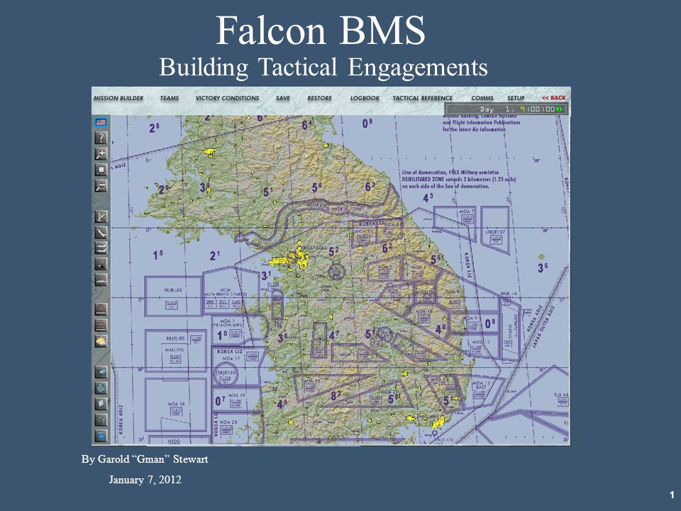 Falcon BMS Building Tactical Engagements By Garold Gman Stewart