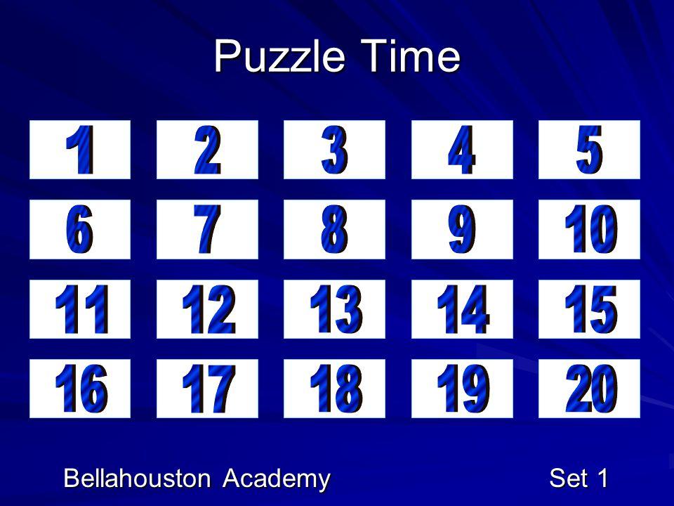 Bellahouston Academy Set 1