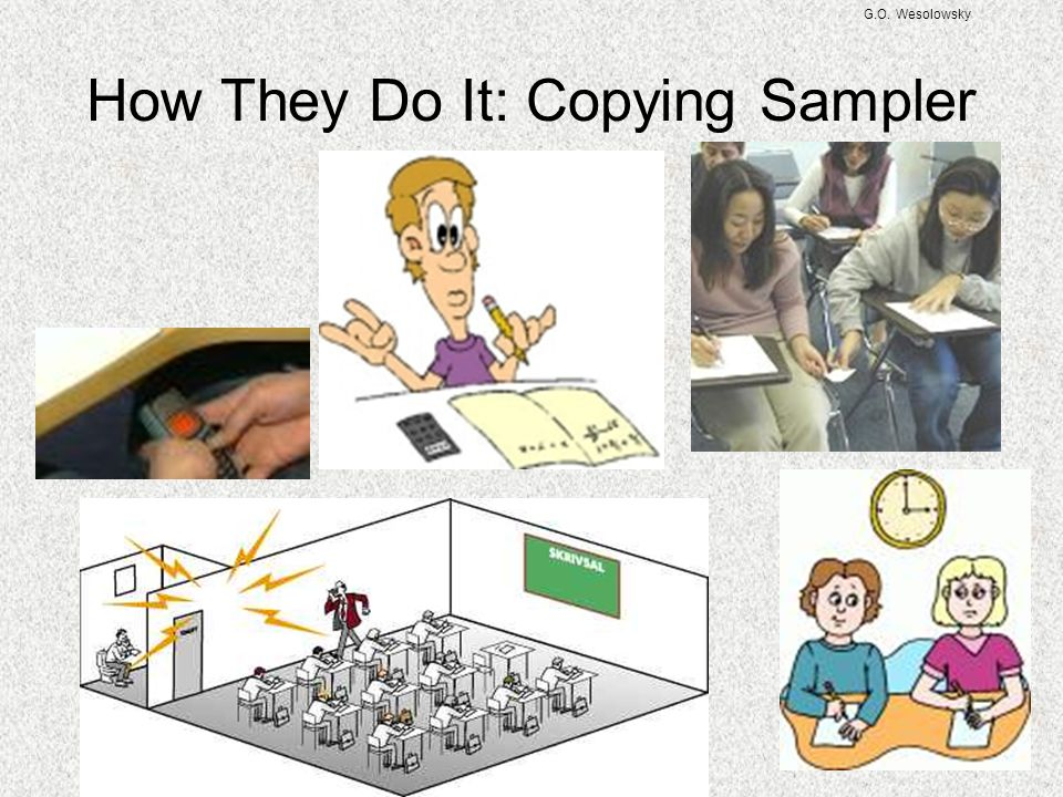 How They Do It: Copying Sampler