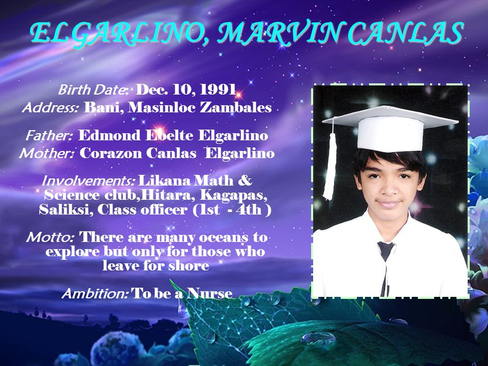 ELGARLINO, MARVIN CANLAS