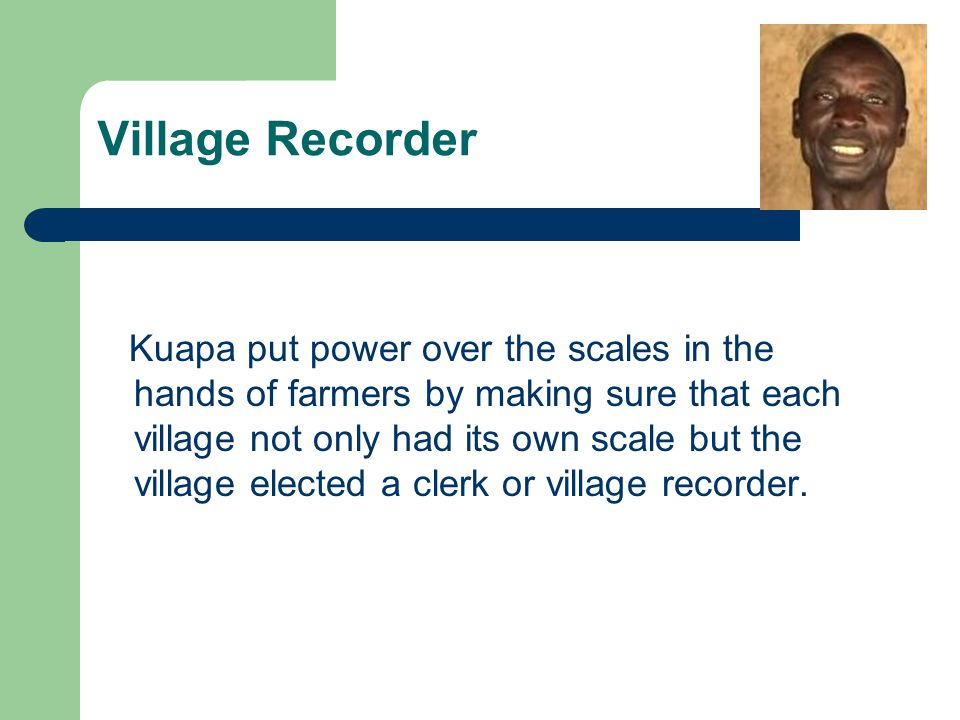 Village Recorder