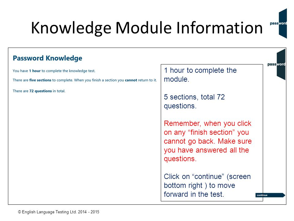 Knowledge Module Information