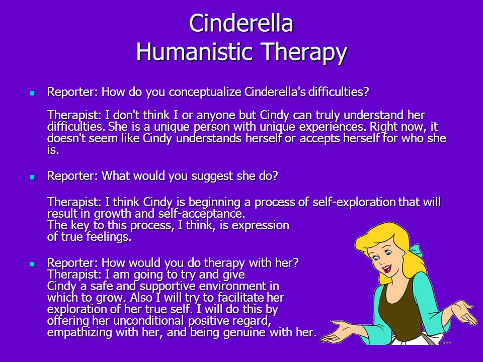 Cinderella Humanistic Therapy