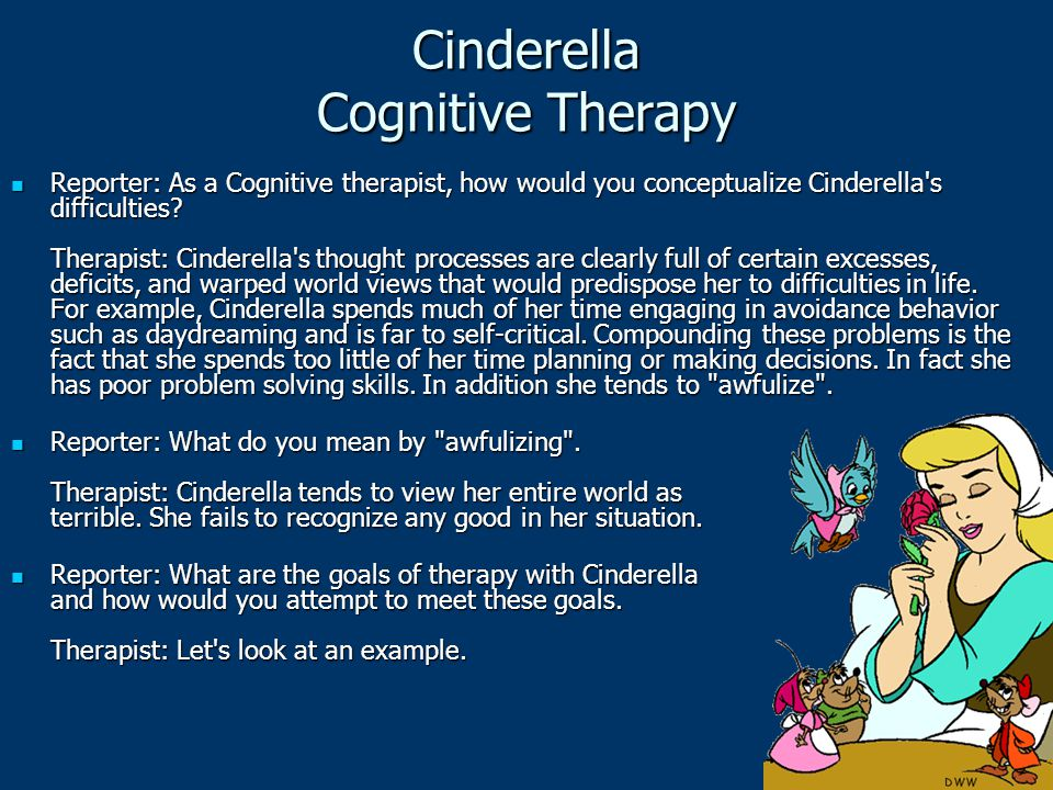 Cinderella Cognitive Therapy