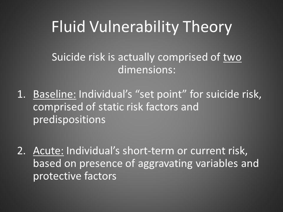 Fluid Vulnerability Theory