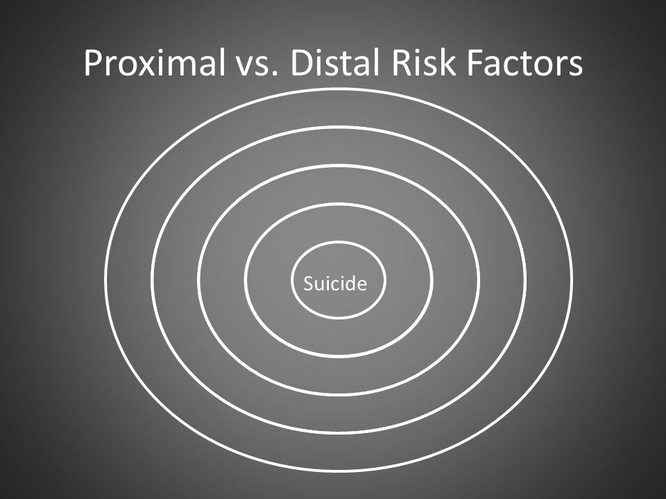 Proximal vs. Distal Risk Factors