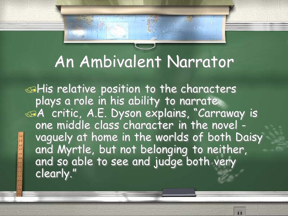 An Ambivalent Narrator