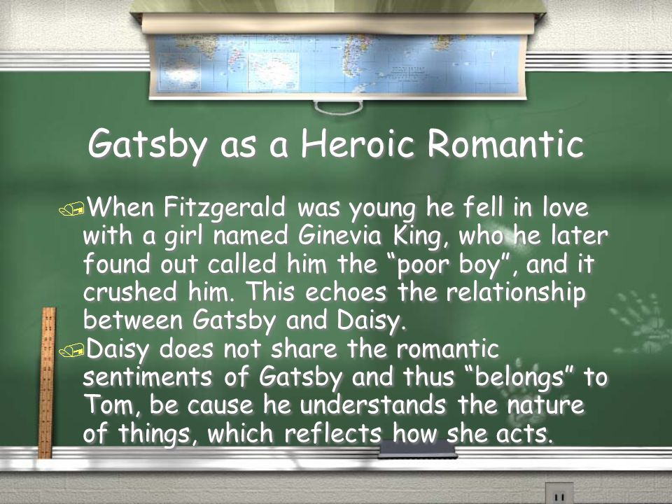 relationship between gatsby and daisy essay Sample student essays on the great gatsby (protected by turnitin a connection between daisy and gatsby is rekindled hope for a relationship with daisy with.