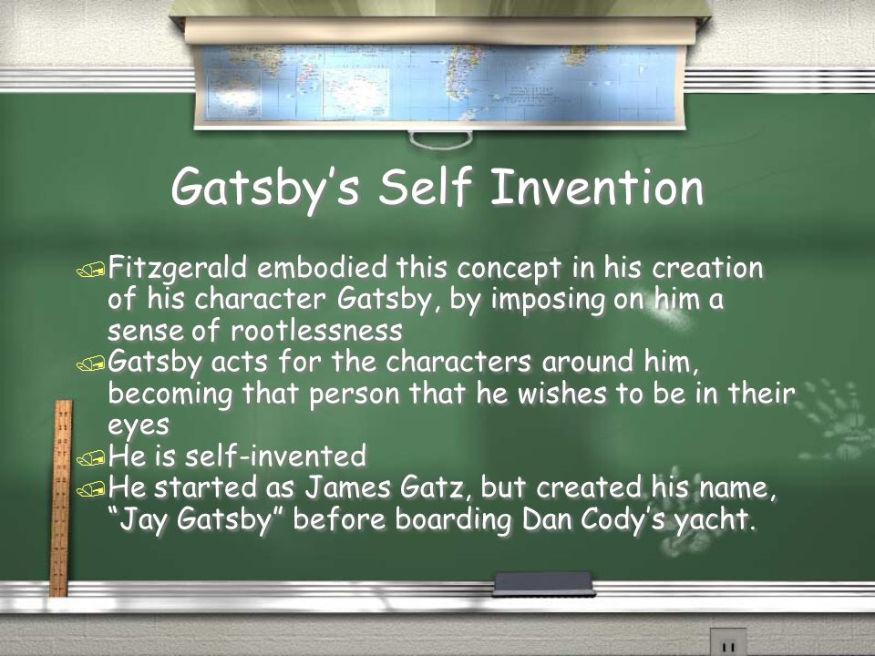 Gatsby's Self Invention