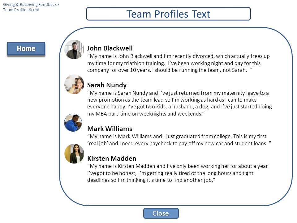 Team Profiles Text Home John Blackwell Sarah Nundy