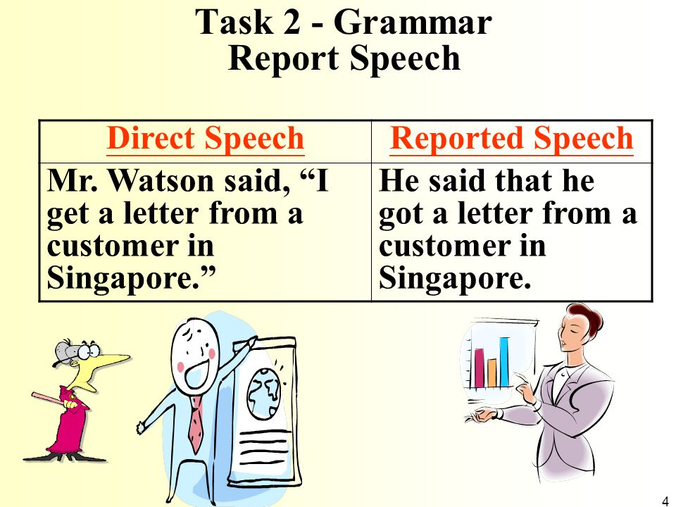 Task 2 - Grammar Report Speech