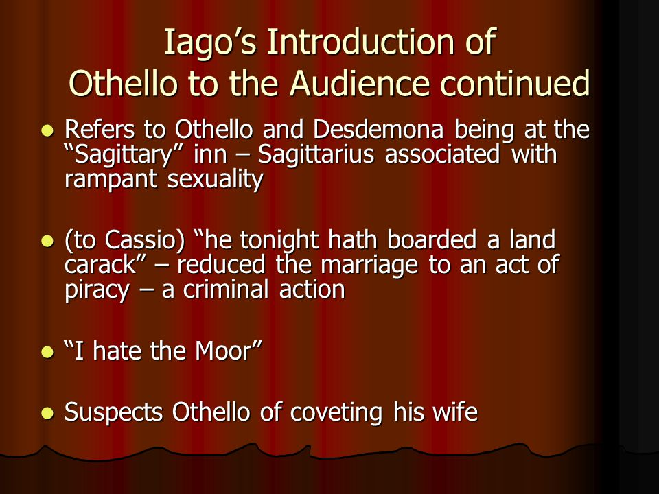 othello centers around iagos character Around 200 mostly young men and have had the misfortune, to work with these iagos of the office place and e-6 are all airborne command centers.
