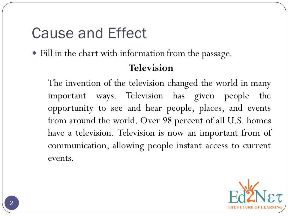 causes and effect of invention of