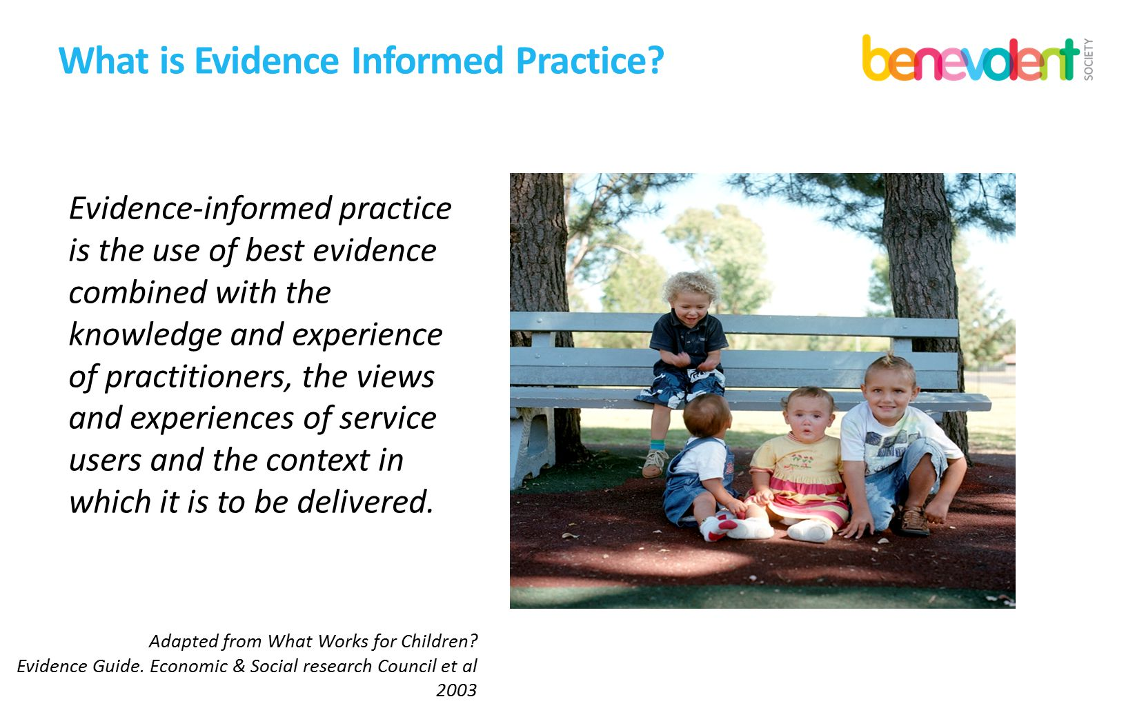 What is Evidence Informed Practice