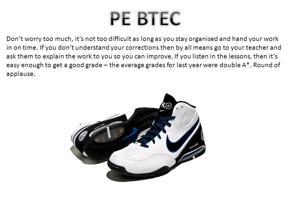 PE BTEC