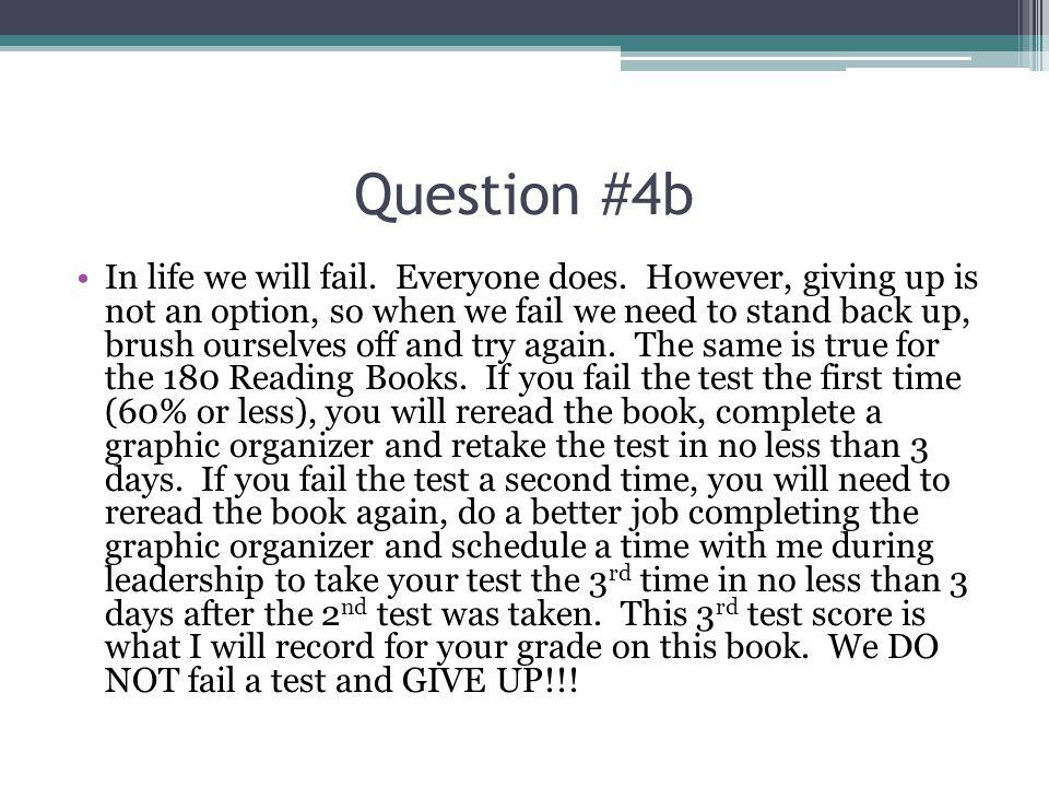 Question #4b