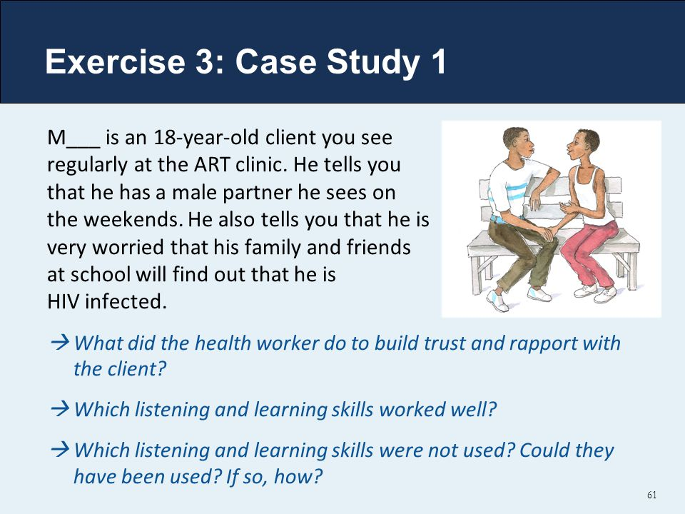 Exercise 3: Case Study 1