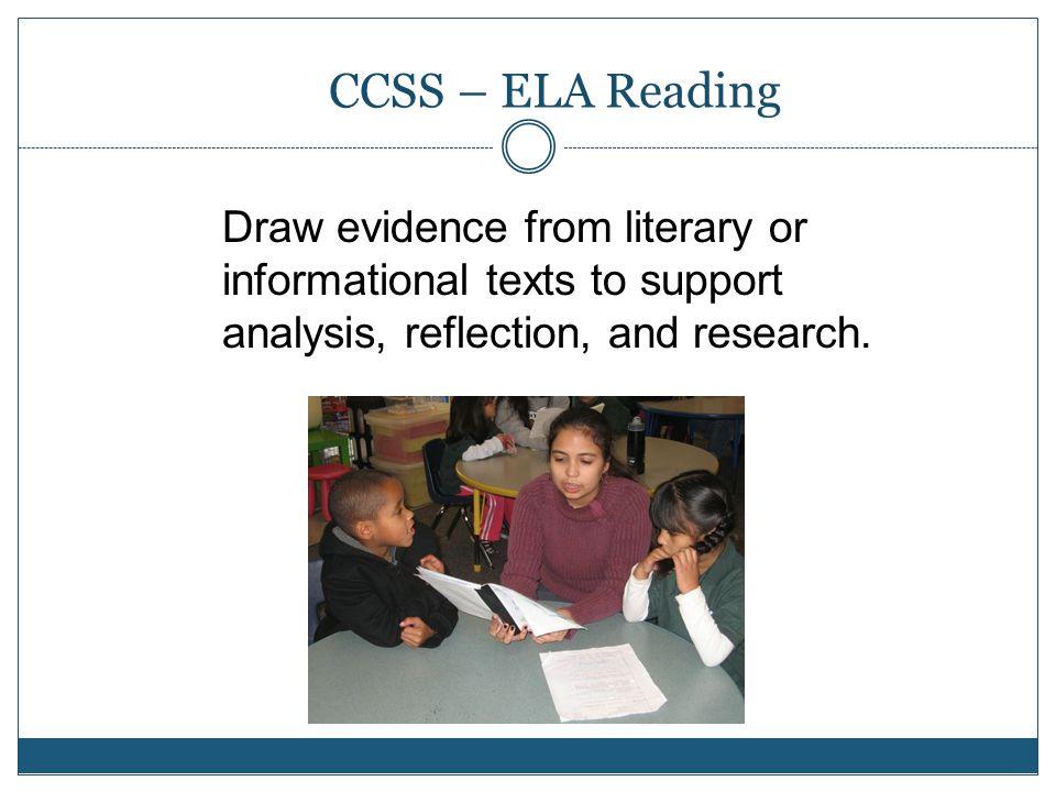 CCSS – ELA Reading