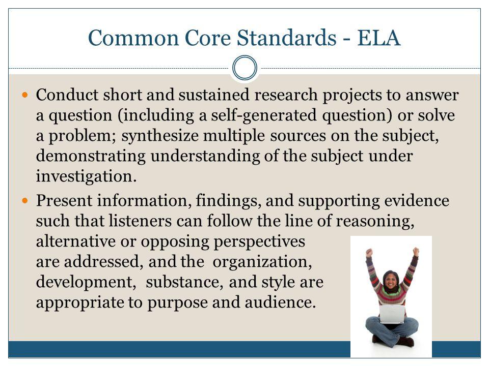 Common Core Standards - ELA