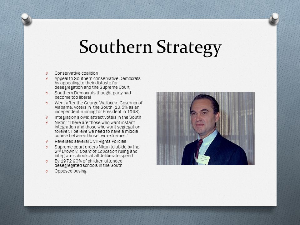 Southern Strategy Conservative coalition