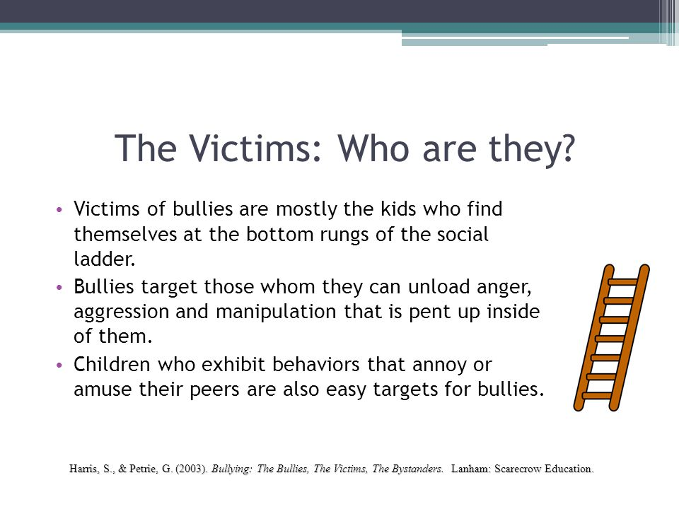 The Victims: Who are they