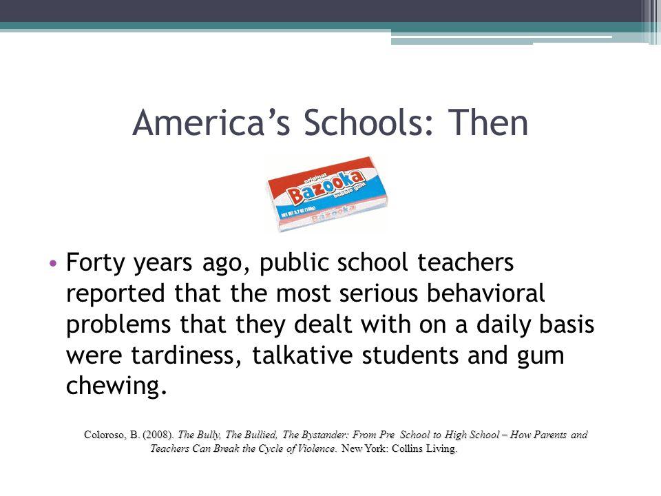 America's Schools: Then