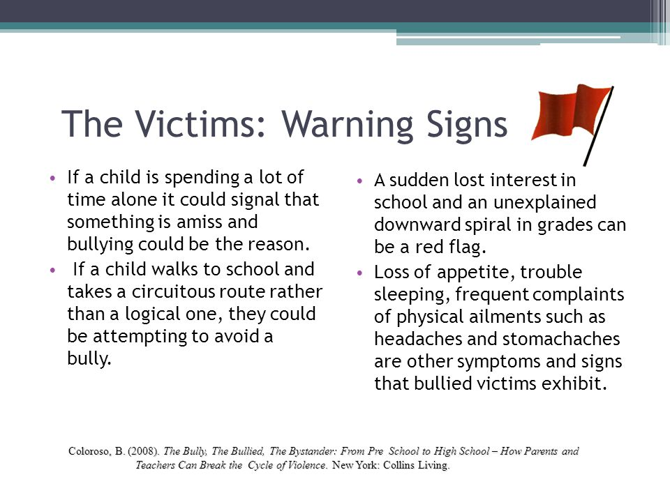 The Victims: Warning Signs