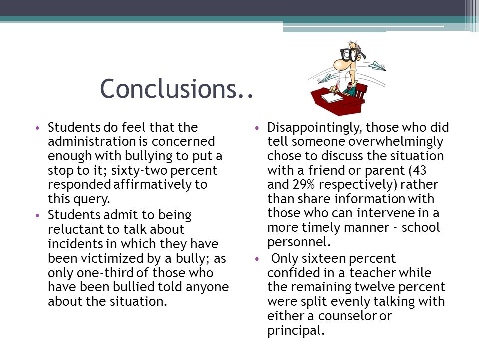 Conclusions..
