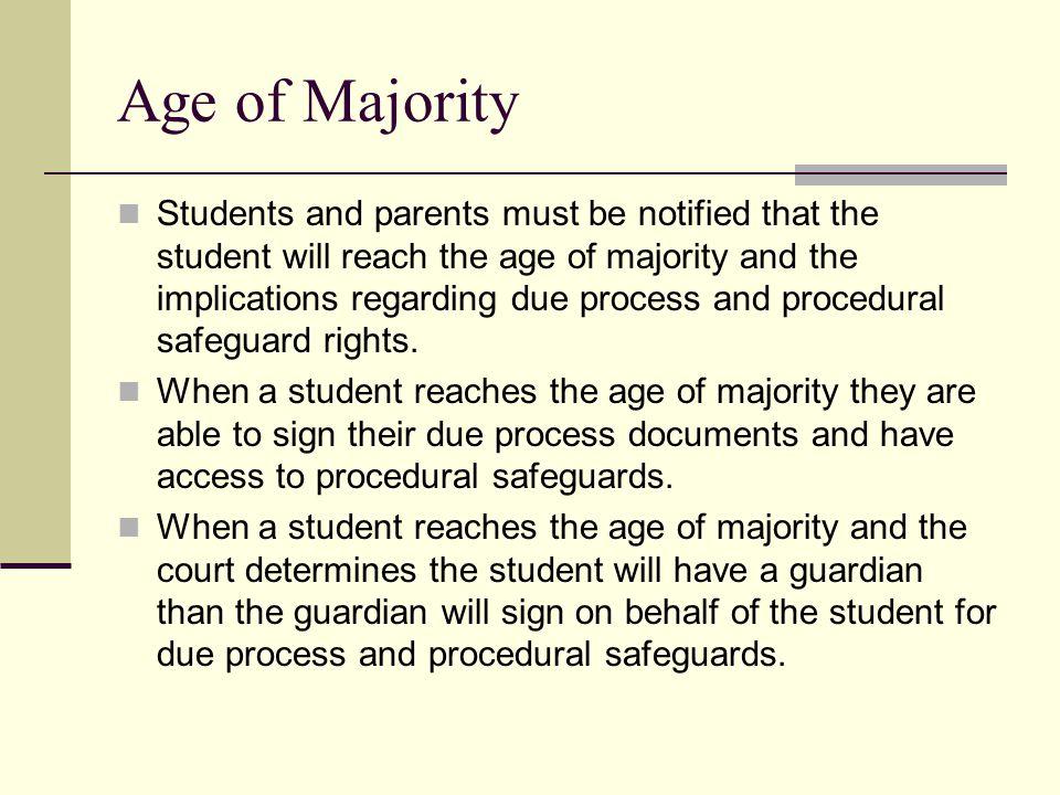 Age of Majority