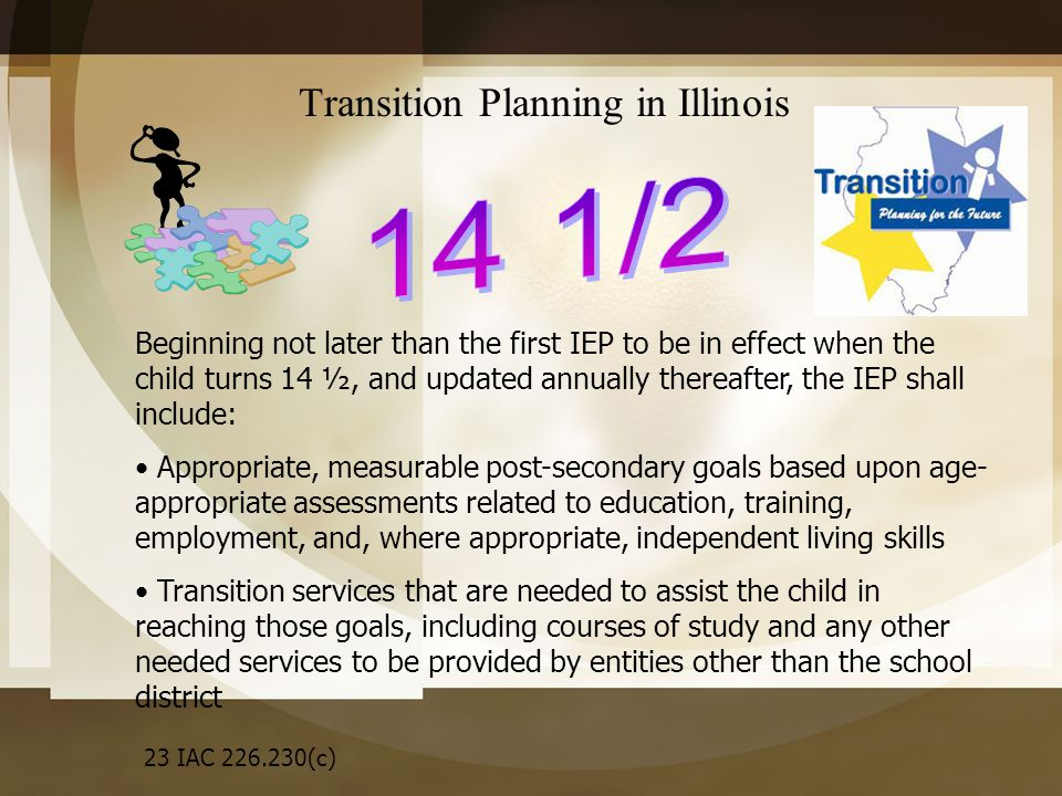 Transition Planning in Illinois